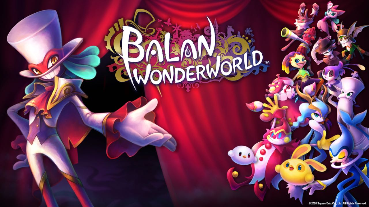 Sonic Creator Yuji Naka and Square Enix Announce Balan Wonderworld for Switch