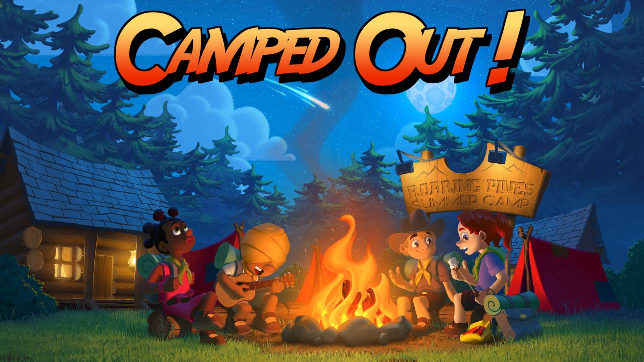 Camped Out! Gets an All New Gameplay Trailer