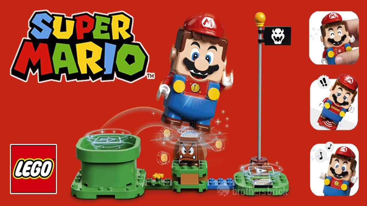 LEGO Super Mario Officially Revealed in New Trailer