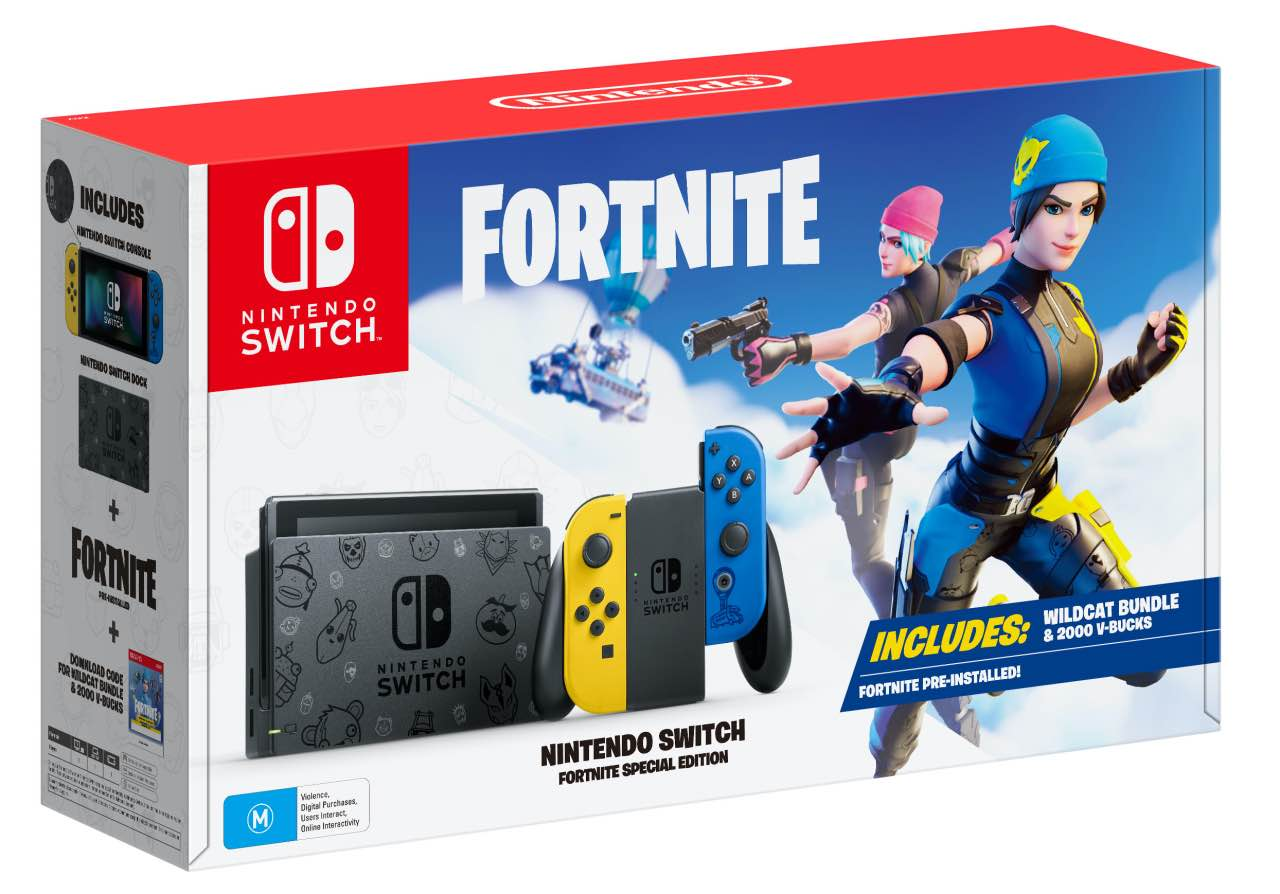 The Nintendo Switch is Getting a Fortnite Special Edition Console in Europe, Australia & New Zealand