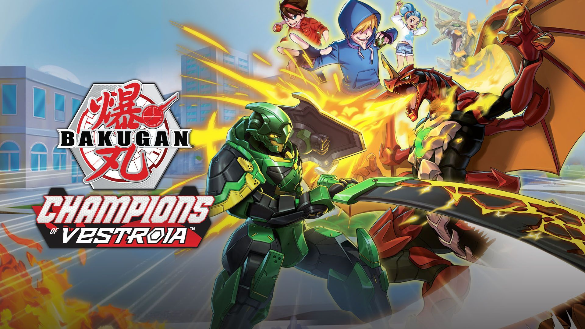 Bakugan: Champions of Vestroia - Switch Review