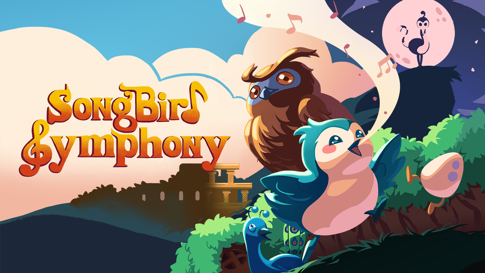 Songbird Symphony Announced for Nintendo Switch