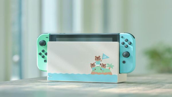 Special Edition Animal Crossing Themed Nintendo Switch Announced