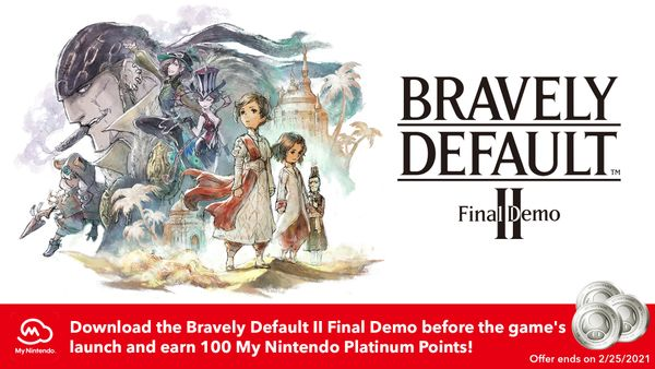 Bravely Default II Final Demo Now Available to Download