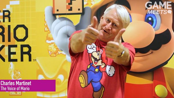 Charles Martinet is in the Guinness World Records for Most Game Voice Over Performances as a Single Character