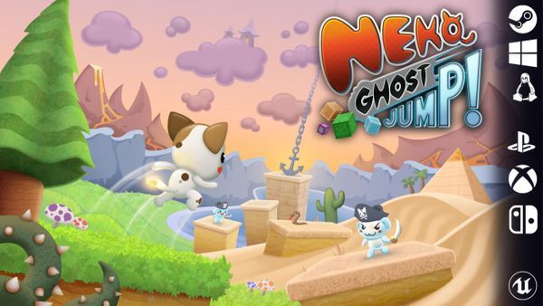 Kickstarter Project of the Week: Neko Ghost, Jump!