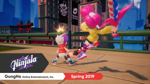 """Ninjala"" Announced for Nintendo Switch"