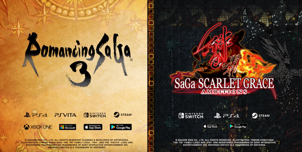 Romancing SaGa 3 and SaGa Scarlet Grace: Ambitions Get Release Dates on Nintendo Switch