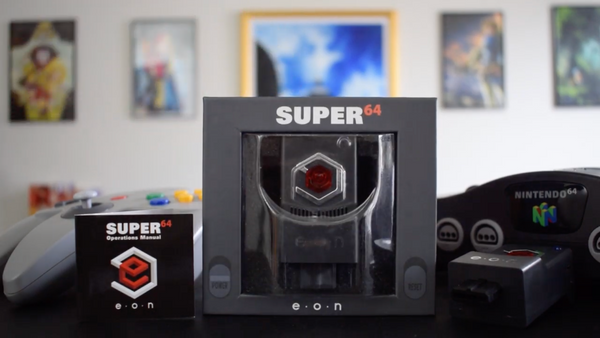 Super 64 HDMI Adapter Allows Your Nintendo 64 to look Crisp on HD TVs