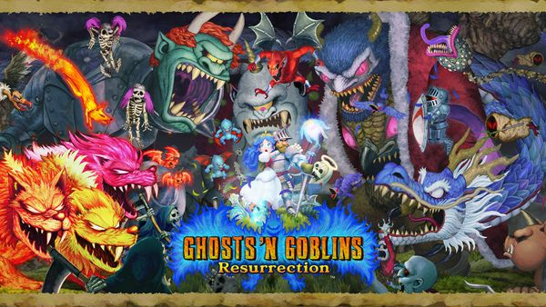 Ghosts 'n Goblins Resurrection and Capcom Arcade Stadium Announced for Nintendo Switch