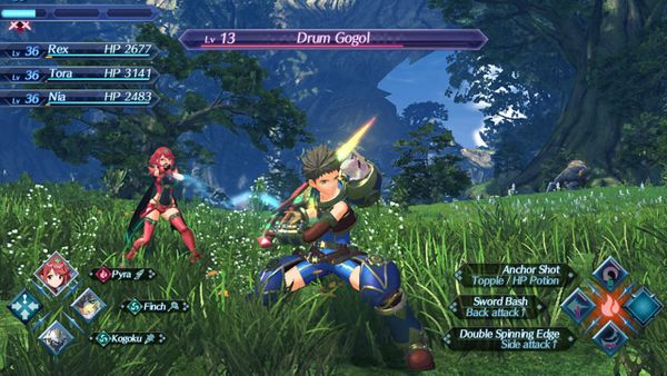 "Bonus areas in ""Tiger! Tiger!"" (Xenoblade Chronicles 2)"