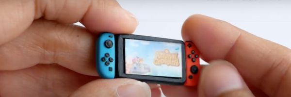 A Nintendo Switch That's Animal Crossing Levels of Cute? This Artist Made the Smallest Nintendo Switch Ever